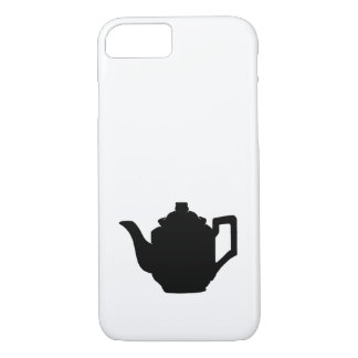 Teapot Silhouette iPhone 7 Case