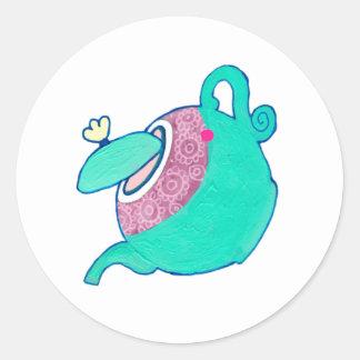 Teapot Sticker