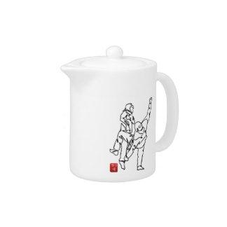 Teapot TAEKWONDO DWICHAGI back kick