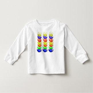 Teapot tower painted pattern toddler T-Shirt