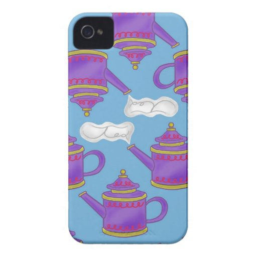 Teapots iPhone 4 Case-Mate Cases