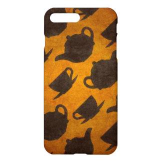 Teapots Cups Design Symbol Texture Pattern iPhone 7 Plus Case