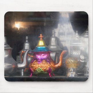 Teapots For Sale At Market Mouse Pad