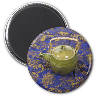TeapotSilkScarf081210 Magnet