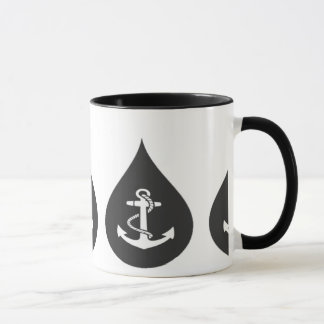 Tear Drop Anchor Mug