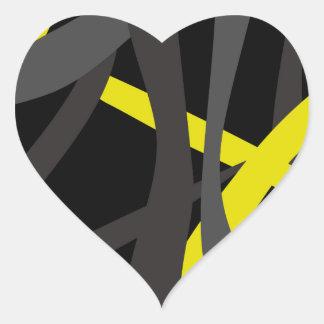 Tear it Up Tote Bag Heart Sticker