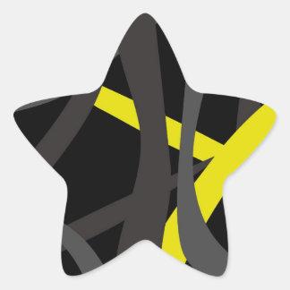 Tear it Up Tote Bag Star Sticker