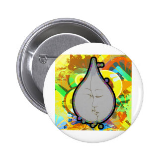 teardrop pinback button