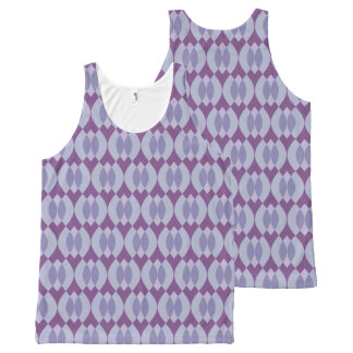 Teardrop Chat All-Over Print Singlet