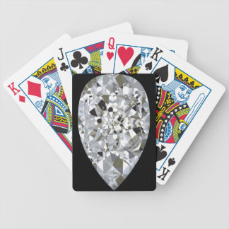 Teardrop Diamond Bicycle® Play Card Decks