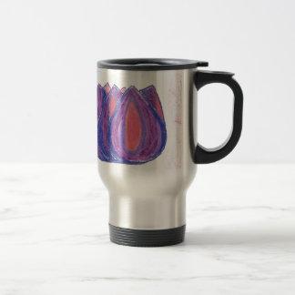 teardrop flower coffee mugs