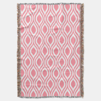 Teardrop Geometric CHOOSE YOUR BACKGROUND COLOR Throw