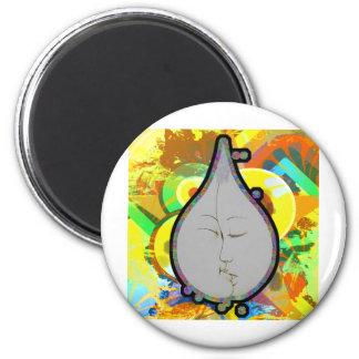 teardrop! fridge magnet