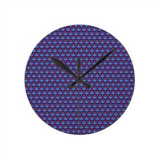 teardrop pattern wall clocks