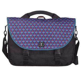teardrop pattern laptop bag