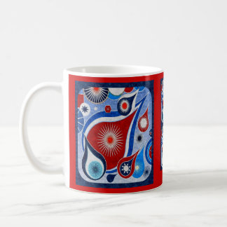 teardrop sky basic white mug
