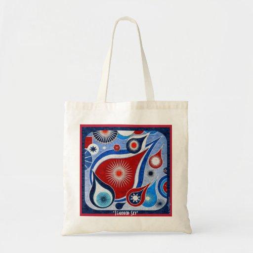 Teardrop Sky Tote Bag