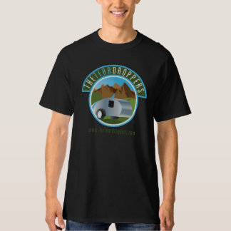 Teardrop Trailer Men's Black T-shirt