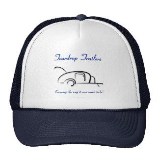 Teardrop Trailers Blue Version Hats