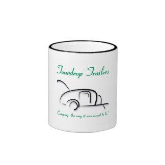Teardrop Trailers Green Ringer Coffee Mug