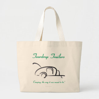 Teardrop Trailers Green Version Canvas Bag