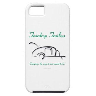 Teardrop Trailers Green Version iPhone 5 Cases
