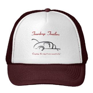 Teardrop Trailers Red Version Trucker Hat