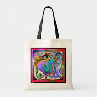 Teardrop Universe Vivid Tote Budget Tote Bag
