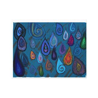 Teardrops canvas canvas prints