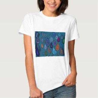 Teardrops/raindrops Tshirt