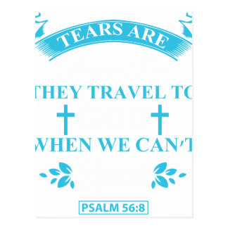 tears+are+prayers postcard