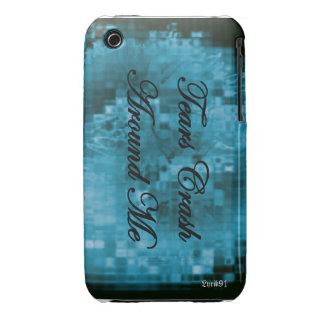 Tears Crash Around Me iPhone 3 Cases