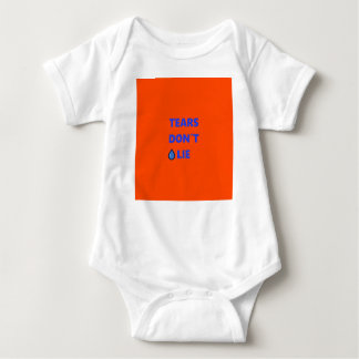Tears Don't Lie Baby Bodysuit