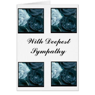Tears, With Deepest Sympathy Greeting Card
