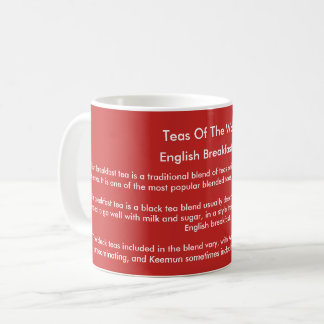 'Teas Of The World' mug - English Breakfast Tea