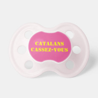 teat anti-Catalans Baby Pacifier