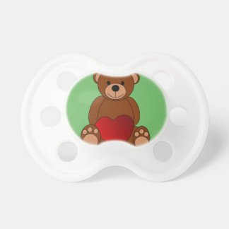 teat brown bear baby pacifier