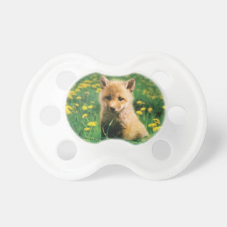 Teat nice fox cub personnalisable! pacifiers
