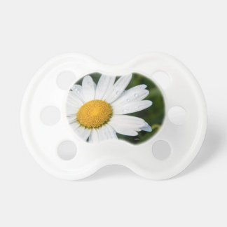 Teat of photo baby, a margueritte, make green dummy