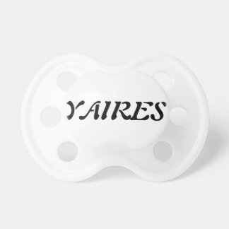 TEAT YAIRES BABY PACIFIERS