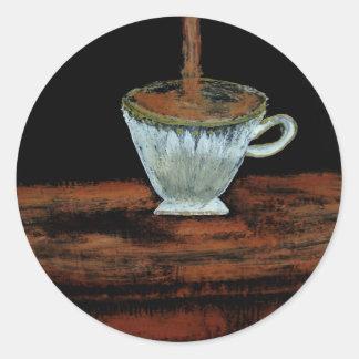 Teatime Round Sticker
