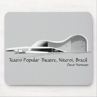 Teatro popular Theatre, Niteroi, Brazil Mousepad