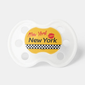 Teats BooginHead Taxi NY & Red KIS Baby Pacifiers