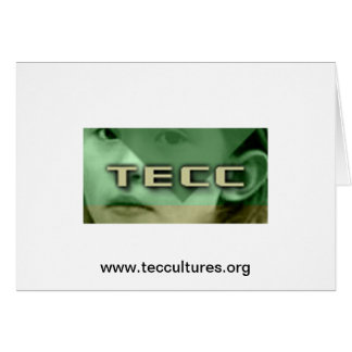 TECC Little Girl logo Greeting Card