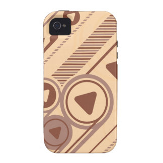 Tech Background iPhone 4 Cases