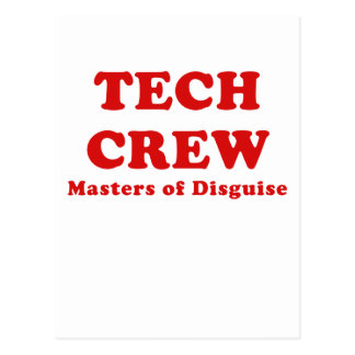 Tech Crew Masters of Disguise Post Card