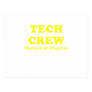 Tech Crew Masters of Disguise Postcard