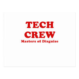 Tech Crew Masters of Disguise Post Cards