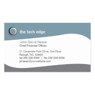 Tech Curves 2 Business Card