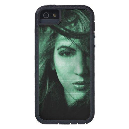 Tech girl iPhone 5/5S case